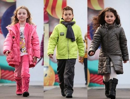 модные детские пуховики