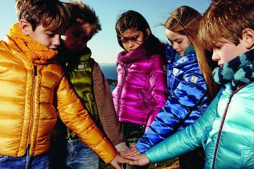 зимние пуховики для детей