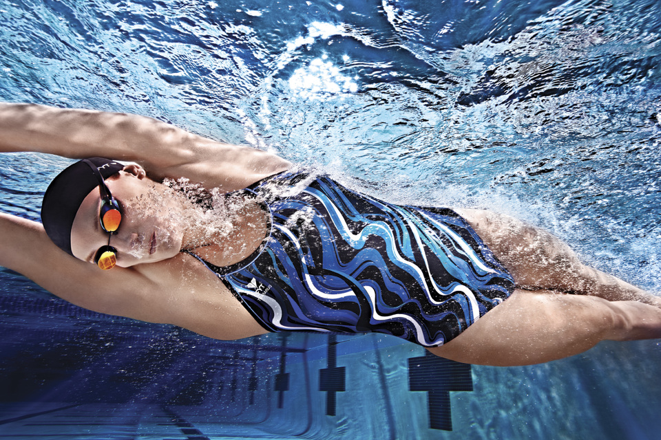 цветные линзы очки для плавания