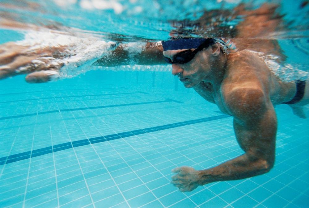 тренировочные очки для плавания