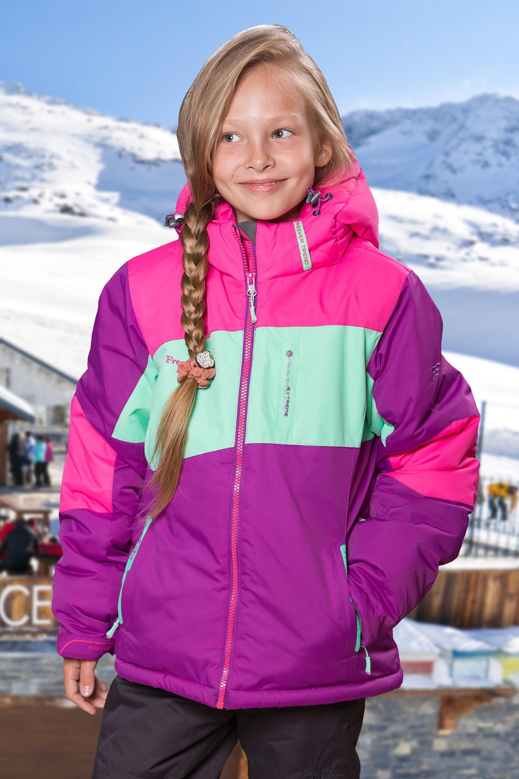 dddd8cf787da Детский лыжный костюм для девочек FREEVER 27025 купить в Киеве ...