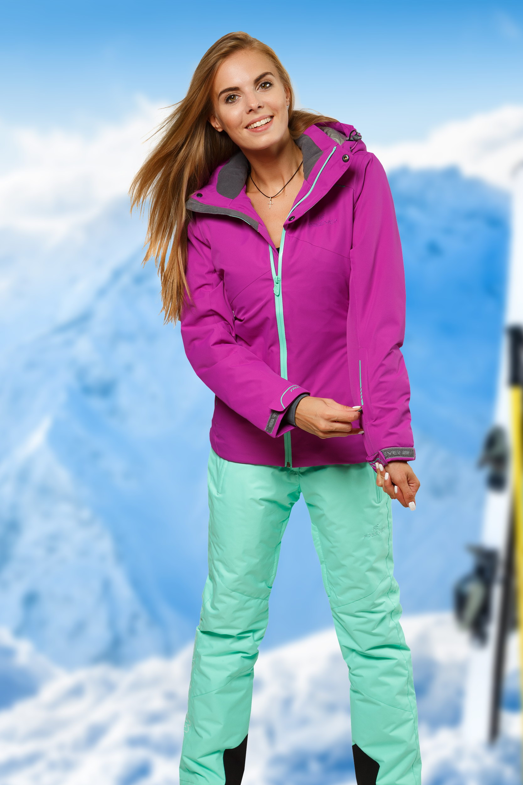 Лыжный костюм женский цена доставка