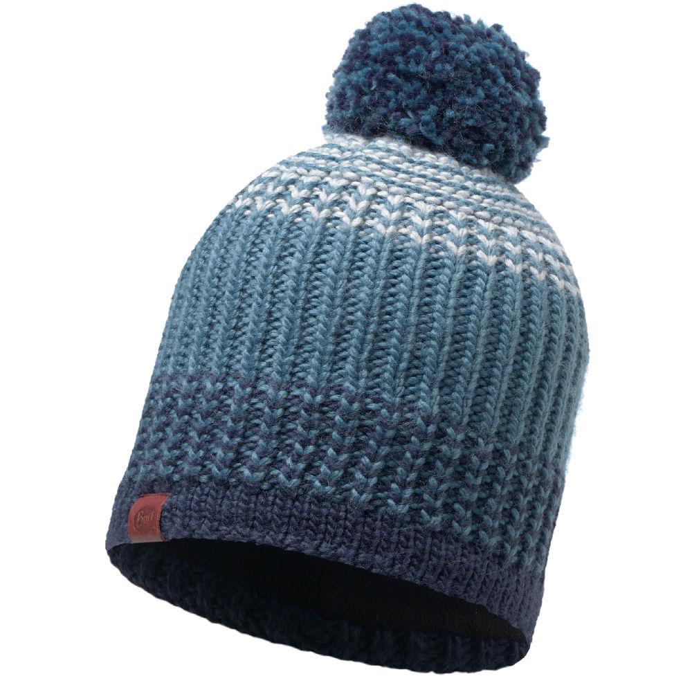 KNITTED & POLAR HAT BUFF® BORAE MAZARINE BLUE