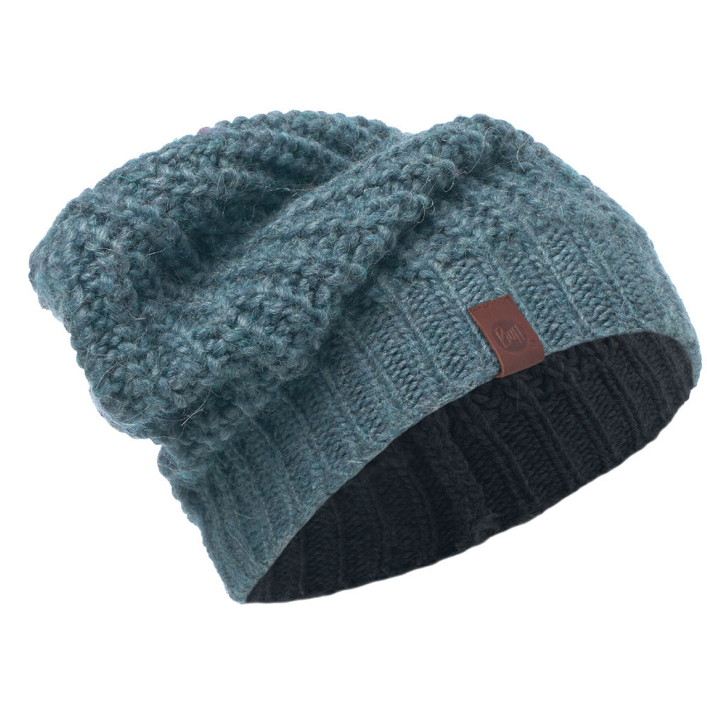 KNITTED HAT BUFF® GRIBLING STEEL BLUE