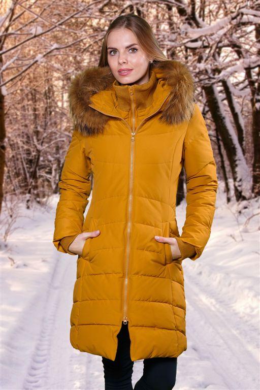 Пальто женское пуховое FREEVER 1001