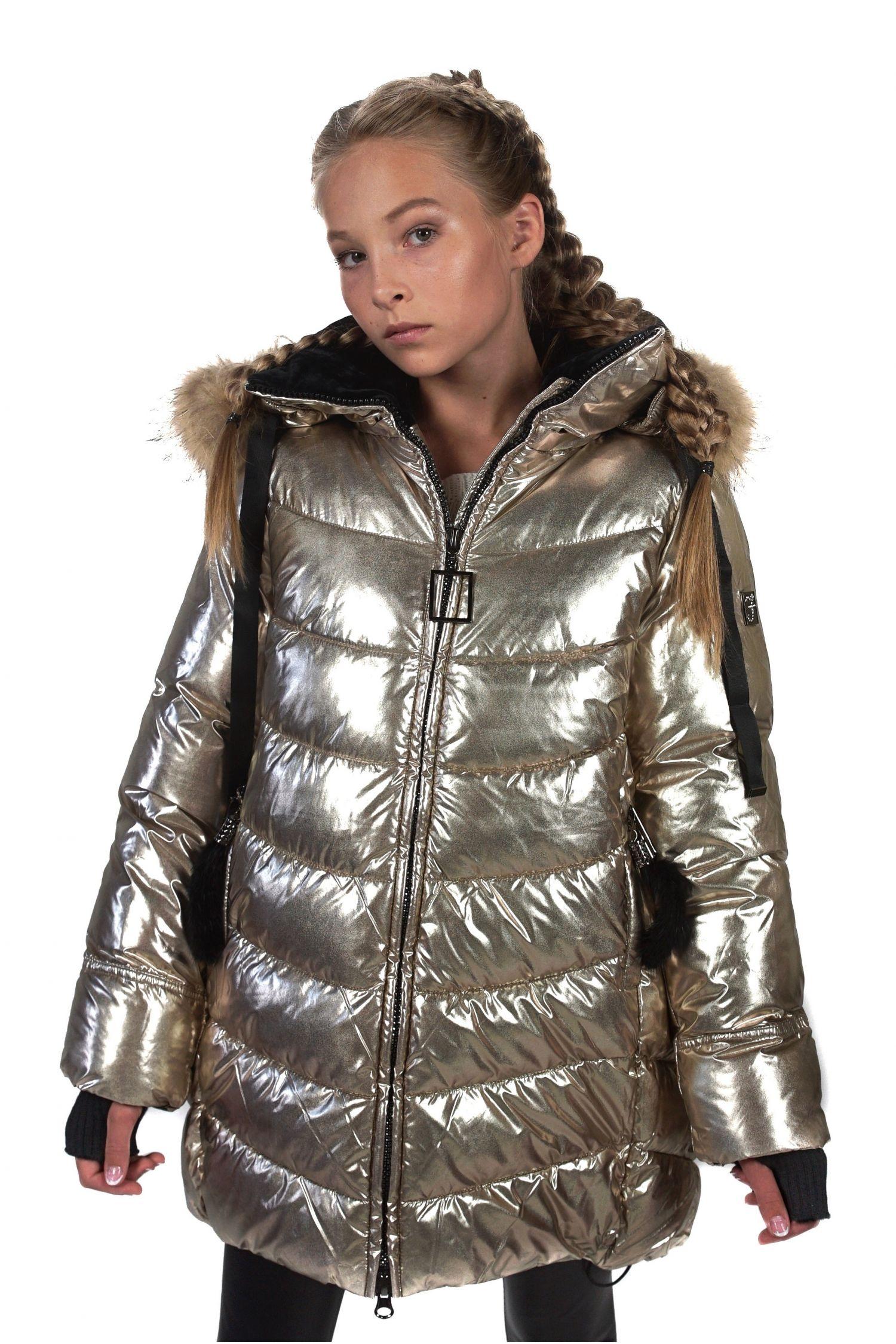 Детское пальто для девочек FREEVER 4404