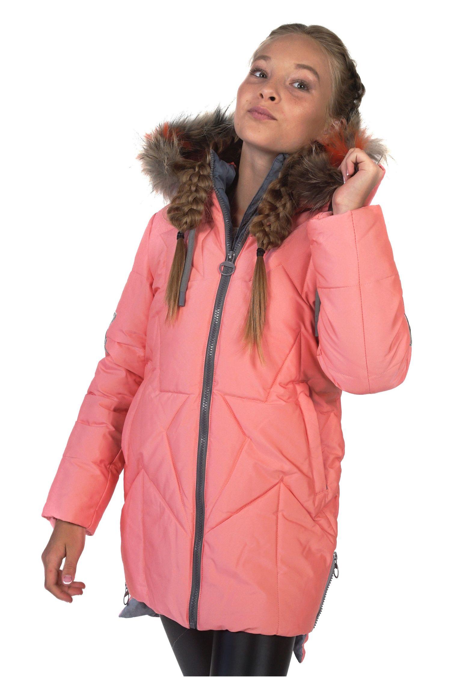 Детское пальто для девочек FREEVER 4405