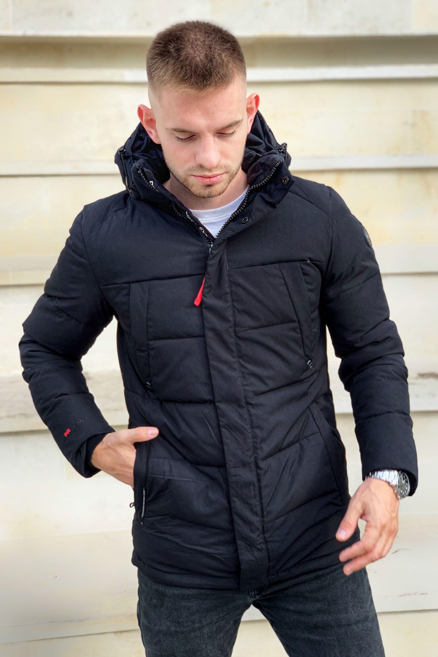 Мужская куртка удлиненная FREEVER K301