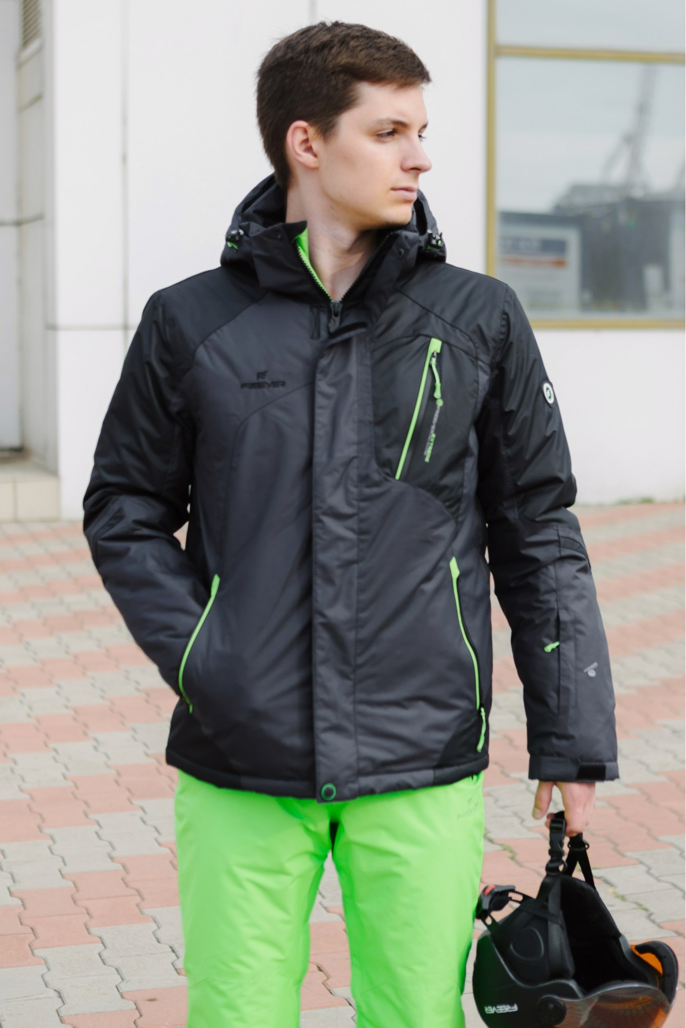 Мужская лыжная куртка FREEVER 7166