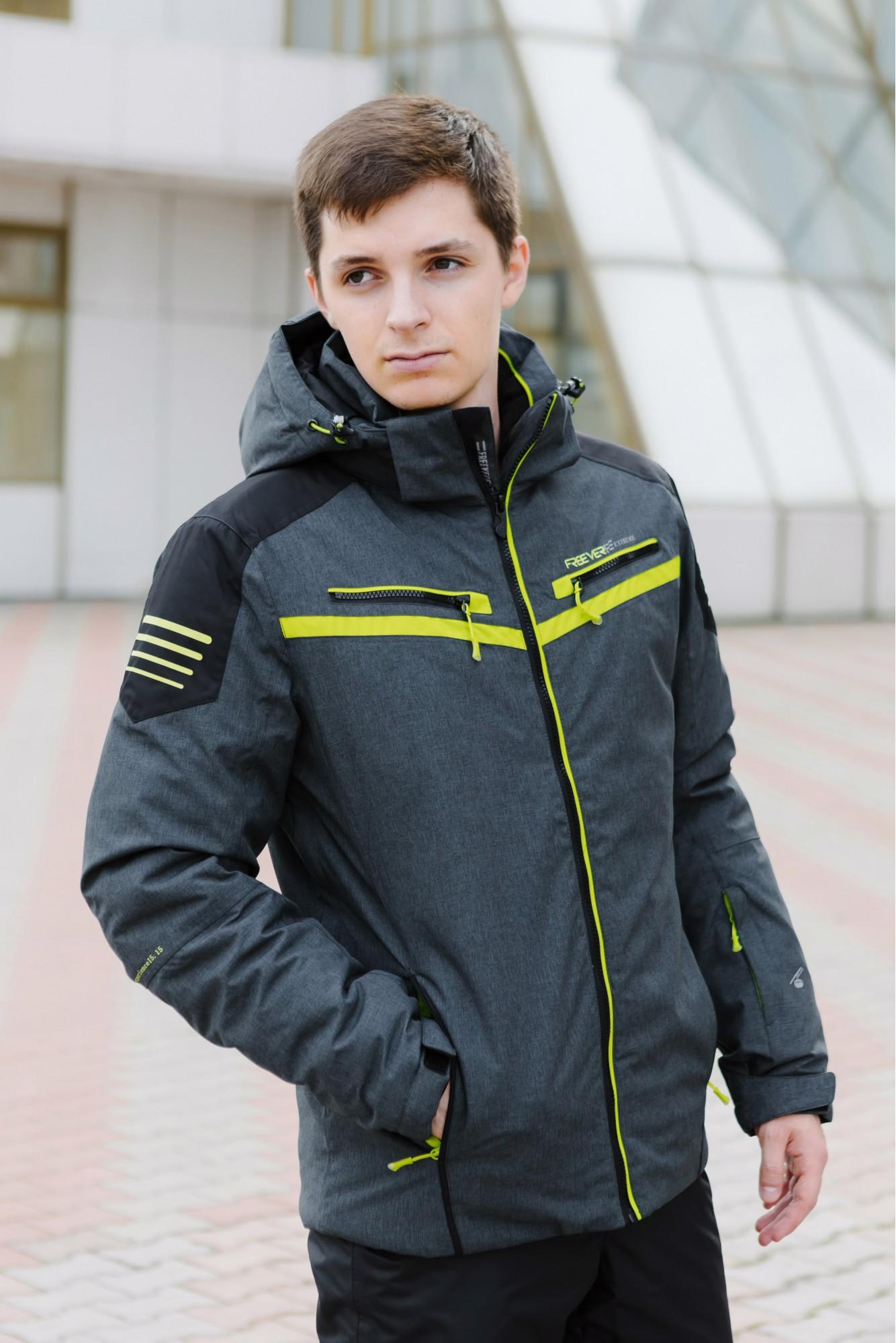 Мужская лыжная куртка FREEVER 7158