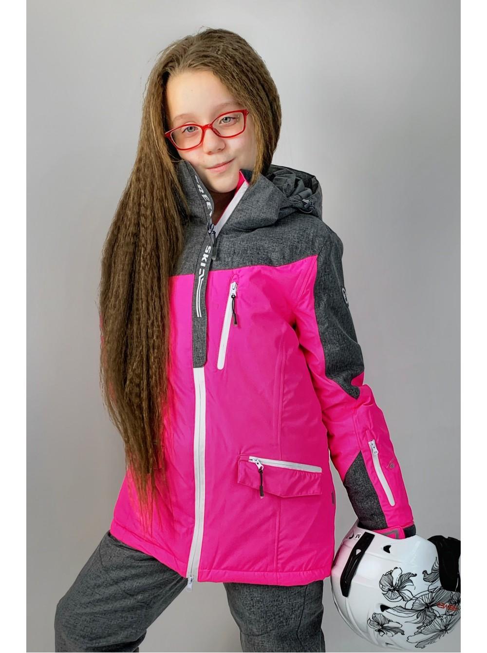 Детская лыжная куртка для девочек FREEVER 11671