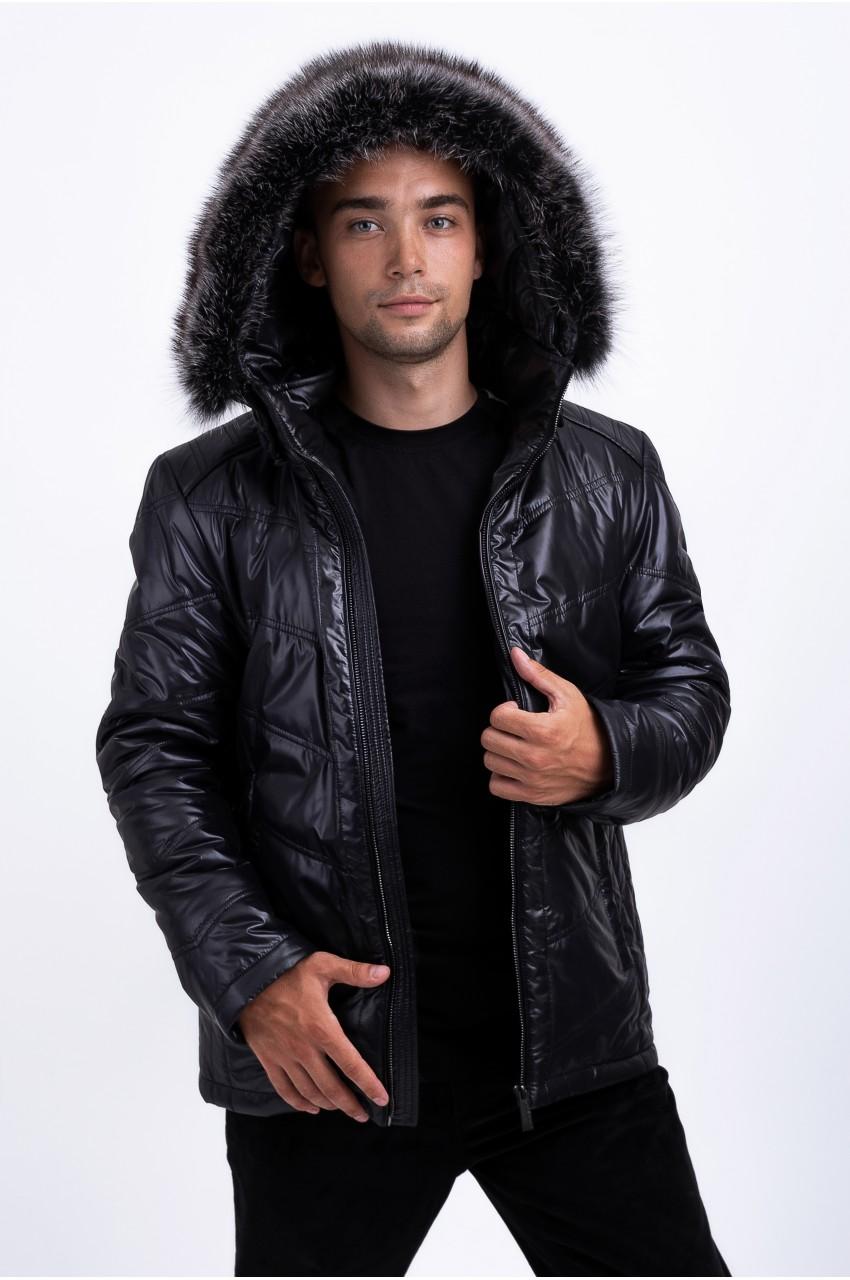 Куртка на верблюжьей шерсти мужская FREEVER SF 69069