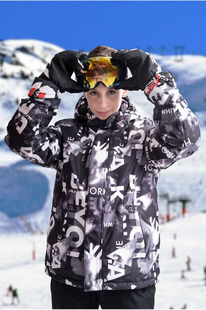 Детская лыжная куртка  FREEVER SF 21674