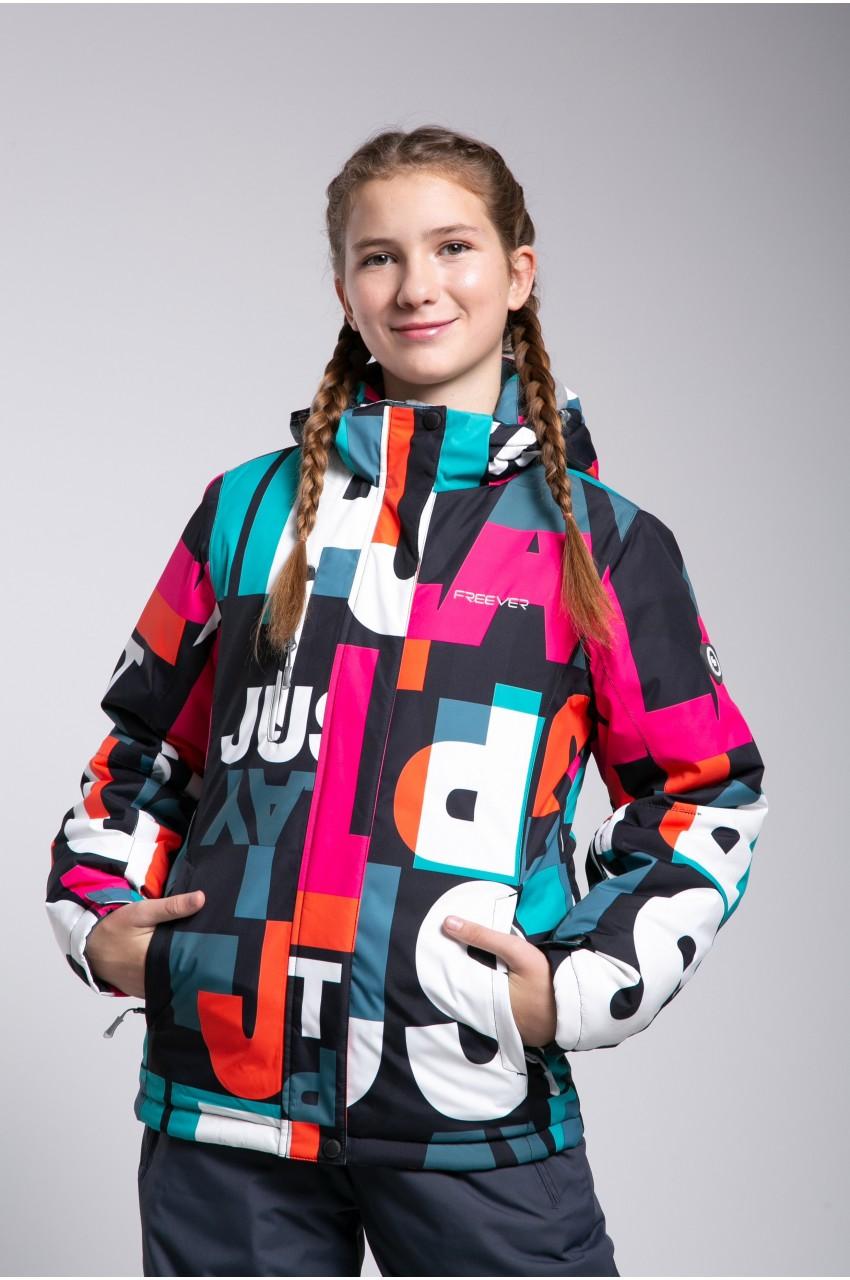 Детская лыжная куртка  FREEVER SF 21603
