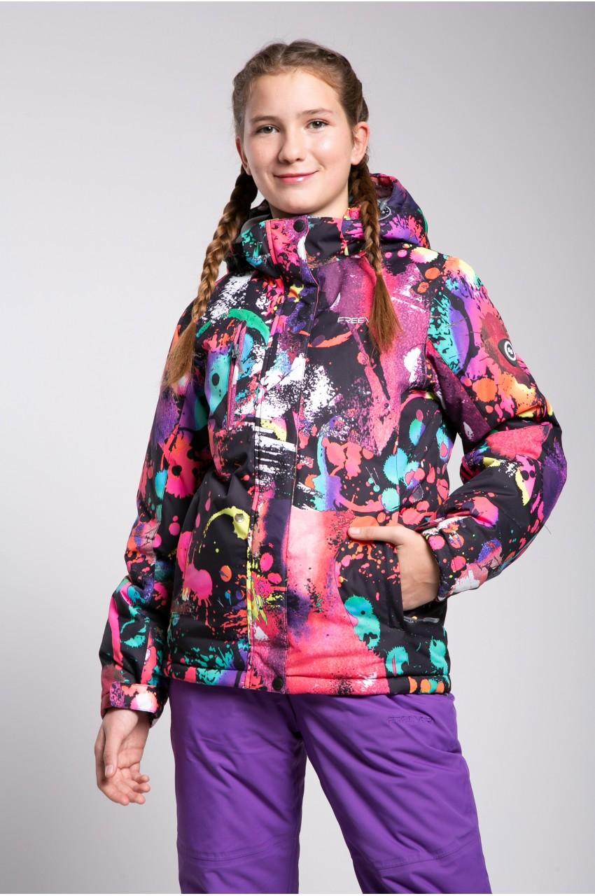 Детская лыжная куртка  FREEVER SF 21601