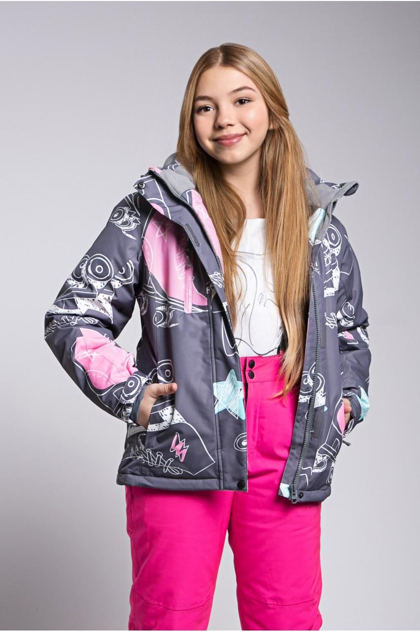 Детская лыжная куртка  FREEVER SF 21602