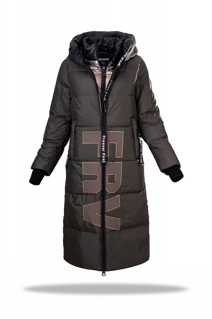 Пальто женское пуховое FREEVER  WF 71583